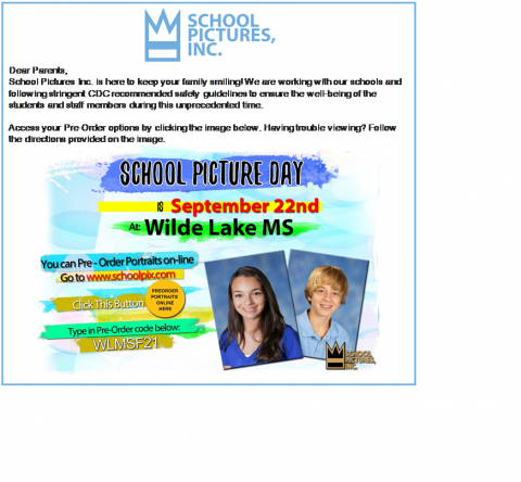 WLMS Picture Day Code