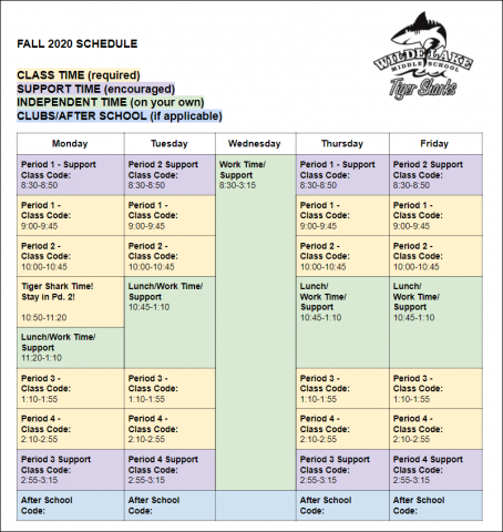 wlms schedule click to make a copy